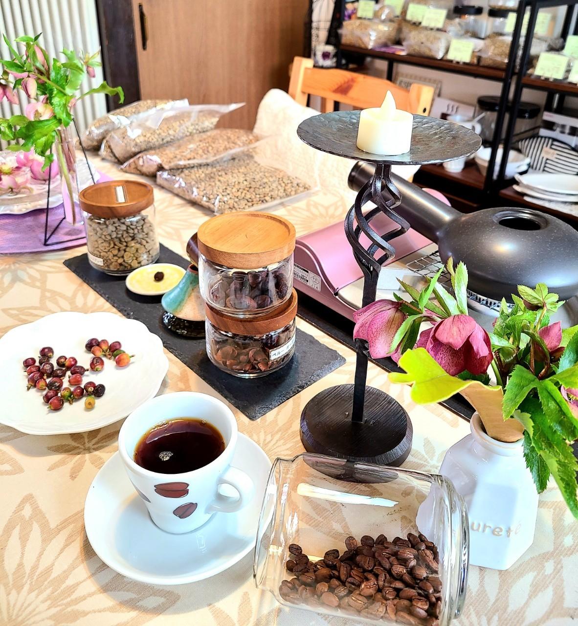 R3/8月 5周年 caffe fresco Nagi |広島 珈琲教室 コーヒー焙煎・珈琲(コーヒー)講座